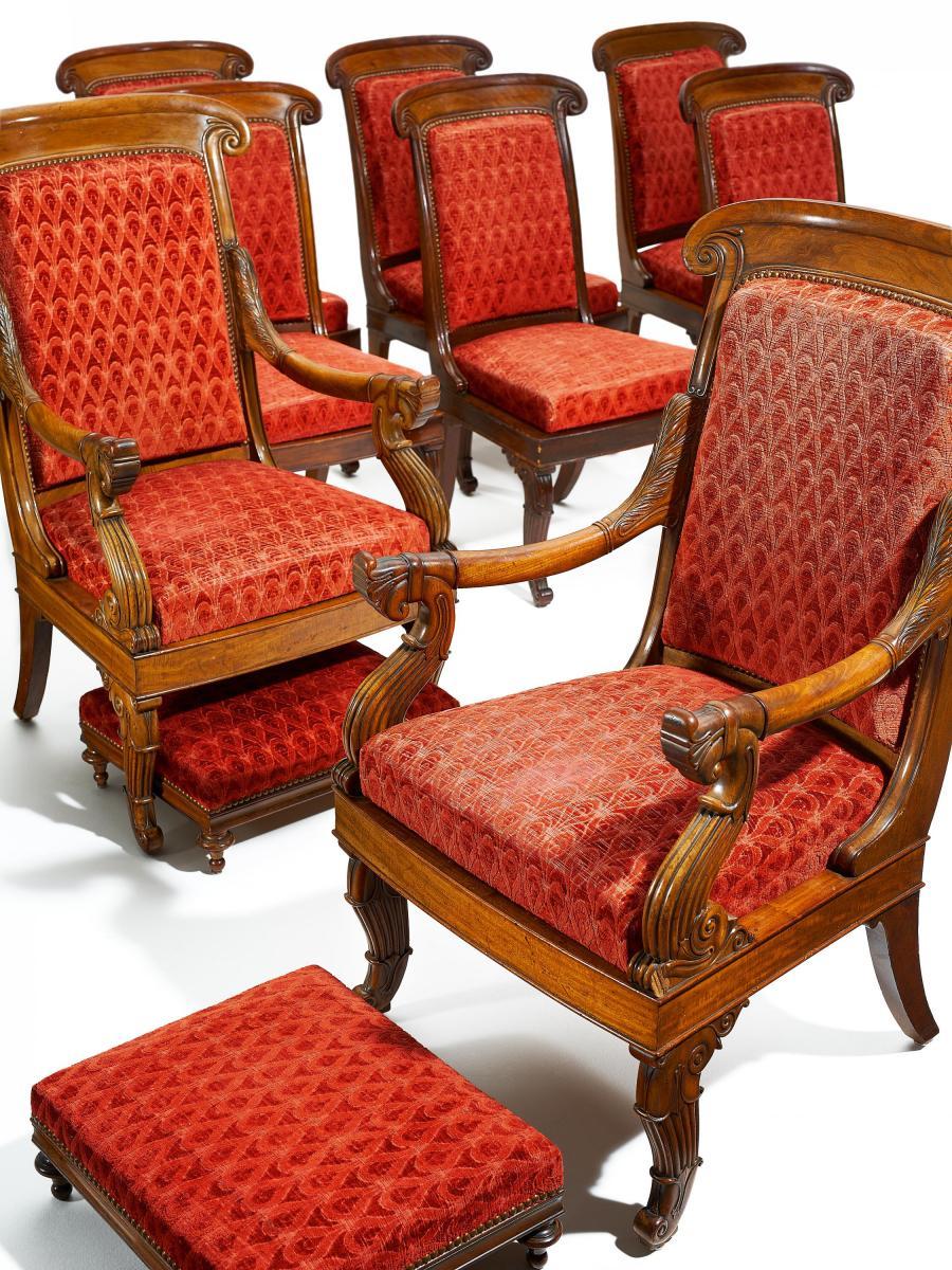 Sitzgarnitur Charles X Von Frankreich Kaufen Verkaufen Van Ham