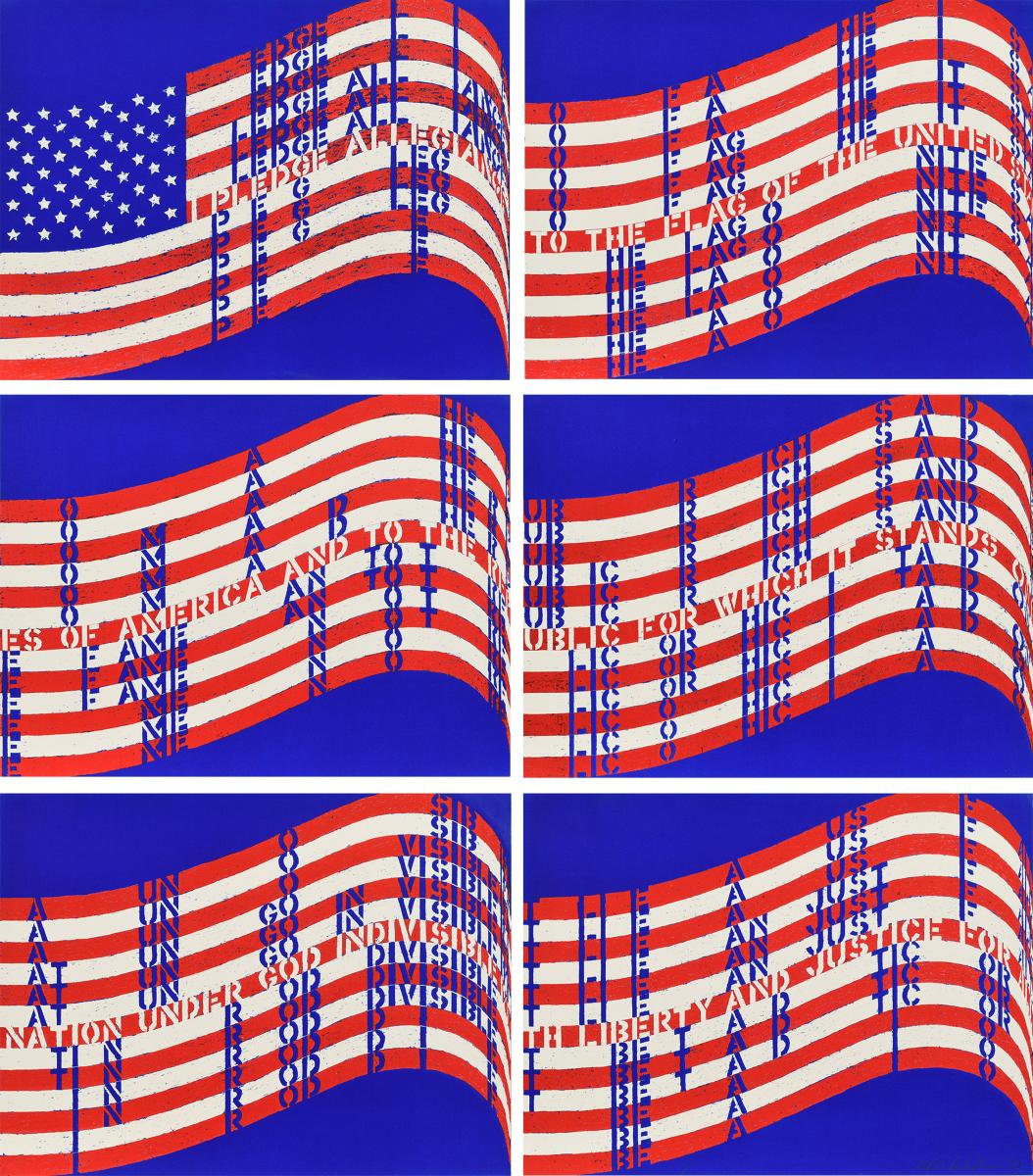 Wav(er)ing Flags 59958-205586, Auktion 181 Los 1, Van Ham ONLINE ONLY | Prints and Multiples