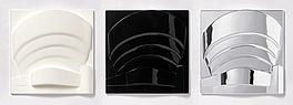 Guggenheim (black - white - chrome), Auktion 344 Los 255, Van Ham Moderne +...