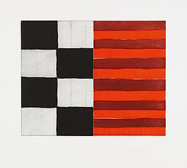 Sean Scully, 1994, Druckgrafik, Abstrakt, Aquatintaradierung, Auktion Nr. 404, Los Nr. 830,  VAN HAM Kunstauktionen