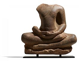 Bedeutender Buddha in Meditation, Auktion 446 Los 54, Van Ham Asian Art