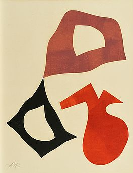Composition: Trois Formes, Auktion 1033 Los 5, Van Ham ONLINE ONLY | Modern Art
