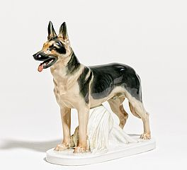 Schäferhund, Auktion 445 Los 501, Van Ham Decorative Art