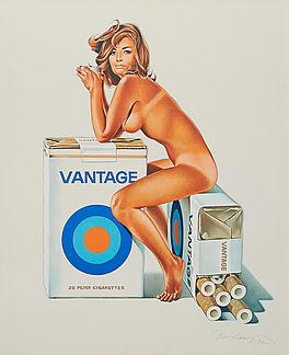Tobacco Red (Vantage), Auktion 1041 Los 90, Van Ham ONLINE ONLY | Prints and...