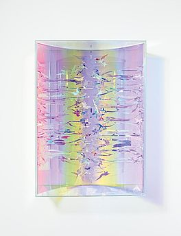 Visual vortex - Oily colours - Butterfly I, Auktion 401 Los 324, Van Ham Modern...
