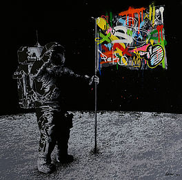Flag on the Moon, Auktion 1035 Los 114, Van Ham ONLINE ONLY | Prints and...