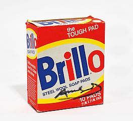 Brillo box (steel wool soap pads), Auktion 393 Los 1117, Van Ham Discoveries