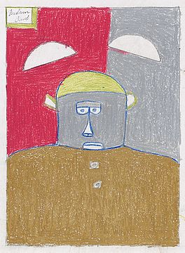 Ohne Titel, Auktion 1008 Los 8, Van Ham ONLINE ONLY | Outsider Art