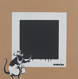 Rat with a black square, Auktion 1050 Los 73, Van Ham ONLINE ONLY | The Return...