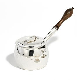 George III Brandy Saucepan and Lid, Auktion 389 Los 1378, Van Ham Europäisches...