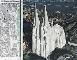 Mein Kölner Dom, Wrapped (Project For Cologne - Germany), Auktion 401 Los 149,...