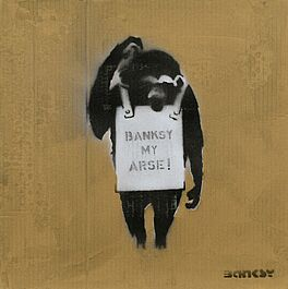 Banksy my arse, Auktion 1023 Los 66, Van Ham ONLINE ONLY | On Paper
