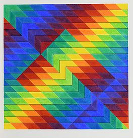 """Chromatic with reserved square"", Auktion 1015 Los 63, Van Ham ONLINE ONLY 