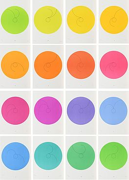 16 constellations, Auktion 1015 Los 1, Van Ham ONLINE ONLY | Art of Colours