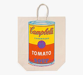 Campbell's soup can on shopping bag, Auktion 442 Los 1485, Van Ham...