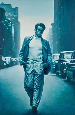 James Dean (blue-green), Auktion 419 Los 157, Van Ham Modern | Post War |...