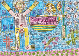 """Donau in der Nacht.?"", Auktion 1008 Los 50, Van Ham ONLINE ONLY 