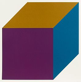 Forms derived from a cube (color) (Mappe mit 12 Arbeiten), Auktion 357 Los 913,...