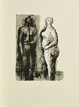 Man and Woman, Auktion 1045 Los 95, Van Ham ONLINE ONLY | Modern Art